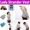 Free shipping  lady strander vest  , ladies top / tank top 100% Cotton soft and comfortable many color to choose hight quality