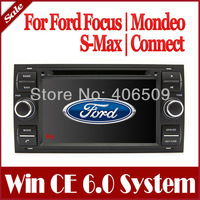 2-Din Car DVD Player for Ford Focus Mondeo S-Max Connect with GPS Navigation Radio Bluetooth TV Map USB AUX Stereo Video Audio