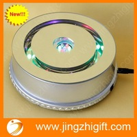 Free shipping,MP3 music Multi Colour Crystal Designed Rotating Display Base Stand for wedding decoration