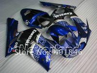 Freeship fairings for KAWASAKI ZX6R 636 2003 2004 Ninja ZX-6R 03-04  blue EIF ABS motorcycle Fairing kit,support customize