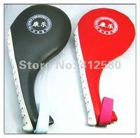 Promotion PU Leather Taekwondo TKD Wrist Strap Portable Double Paddle Kicking Target Pad
