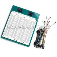 Free ship,2860 Tiepoint Solderless Breadboard Includes Jumpwires for Shield ICs