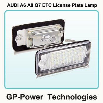 2015 Newest LED License Plate light For Audi A3 A4 A6 A8 Q7 etc