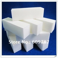 Free Shipping 50 Pcs/Lot 4 way White Nail Buffer buffering block / Nail file/sanding block Wholesale