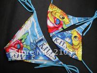 Free Shipping+Wholesale+Hot Sale Sexy Girl's Swimwear Halter Bikini Women's Swimsuit 4 colors 2PCS NWT S/M/L BE9104#