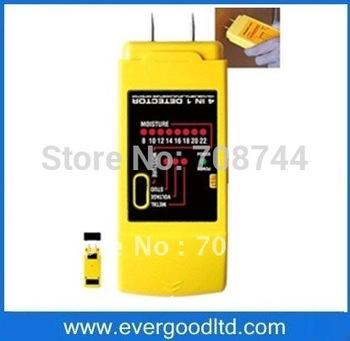 Moisture(8%-22%),Stud/metal/AC Wires Detectors and Wood Moisture Meter TS69