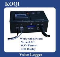 DHL Freeshipping,Mini Telephone Voice Recorder, Telephone Bug and Logger/Telephone Voice Monitor