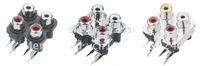Four  RCA Socket---AV4-8.4-7  Audio&Video connector