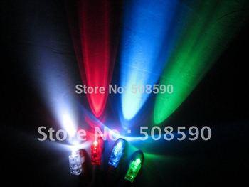 Free Shipping 40pcs/lot  (10set) laser finger beams flashing finger lights flashing ring led finger lamp for Christmas