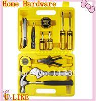 free shippment  best price hardware tool kits  household tool set 12pcs