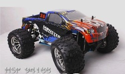 HSP 1/10 Nitro car. ball head hanging Edition Monster Truck (Model: 94188)(China (Mainland))