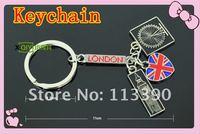 free shippment 10PCS Creative gifts of key London Olympic souvenirs souvenir London add-ons