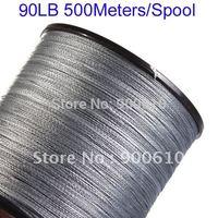 Super Strong 100% UHMWPE Fishing Line 4-Braid 90LB 500Meters/Reel