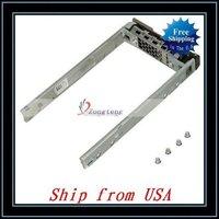 Free Shipping + Wholesale 5pcs/lot 2.5''G176J SAS/SATA Hard Drive Tray For Dell Ship from USA-81006193