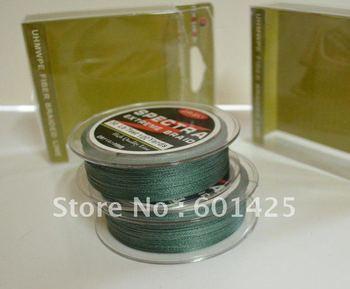 Free shipping Braided Fishing line 30LB 100yd Green 100% SPECTRA FISHING line