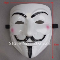 Wholesale - 10 pcs Masquerade masks movie  V-mask   Halloween necessary