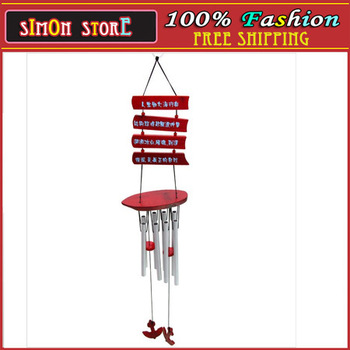 Metal pipe music windbell *bells made of metal *wind chime* gift household act the role ofing is tasted simon store