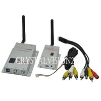 CCTV 2.4G Wireless 8Channel 2000mW AV Sender Video Transmitter & Receiver Kit