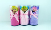 Free shipping 2013 GOOD QUALITY 100% BRAND NEW wholesale high quality cotton  cake  towels