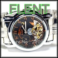 HOT! New Arrival Wholesale Flent Watches Automatic Mens New Brand 10pcs/lot, Fashion Wrist Watches Fast Shipping,LLW-F1084-1