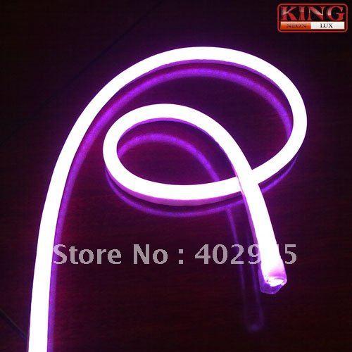 LED Neon Flex Purple color LED soft neon light LED Flexible neon strip LED neon rope lights 240V DHL express shipping(China (Mainland))