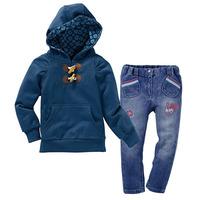 Free shipping 5set/lot 2012 autumn new style 3pcs suits set(hoodiesJacket+Long sleeve shirt+Pants)
