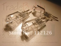 Free shipping  100% New and High Quality Halogen Light Bulb (10pcs / pack) 10W 20W 12V G4 Base JC Type
