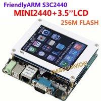 Free Shipping,FriendlyARM Development Board kit ARM MINI2440+3.5 inch 320*240 touch screen,64M Ram+256M Flash,S3C2440 2440 ARM9