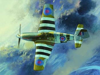 Trumpeter 1/32 02283 RAF Mustang III (P-51B/C)