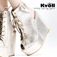 Free shipping Newest Arrival Kvoll Sexy  High Heels boots shoes for Women dropship Platform shoes X707