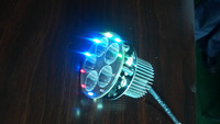 Motorcycle LED headlamps