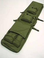 "48"" SWAT Dual Tactical Rifle Carrying Case Gun Bag OD free ship"