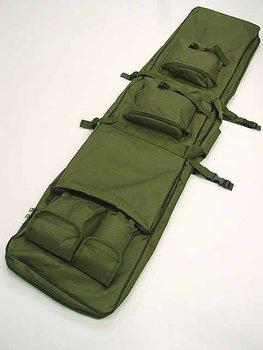 "48"" SWAT Dual Tactical Rifle Carrying Case Gun Bag OD free ship"