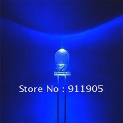 $5 off per $50 order $5 off per $50 order 200 PCS/LOT Light-Emitting Diode (LED) Blue Light 5mm Straw Hat LED(China (Mainland))