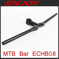 Full carbon mtb handle bar,intergrated stem bar,  3k/UD, free shipping~!!!