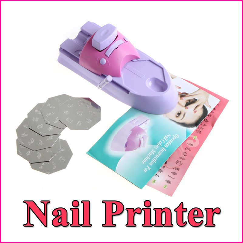 Nail Art Printer DIY Pattern Printing Manicure Machine Stamp Nail Tools Set Wholesale(China (Mainland))