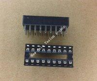 Free Shipping 50pcs 18 pin DIP IC Sockets Adaptor Solder Type Socket 18p