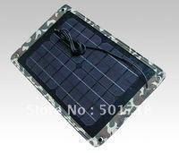 20PCS High efficiency  solar panel/10W Solar folding charging bag