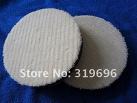 Free Shipping 2pcs/lot High Quality Auto Polishing Wool Sponge Pad Car Wool Polishing Ball Buffing Sponge Balls Retail