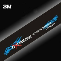 Free shipping/Car Sticker/EXTREME Automotive Supershow Autofest sticker/the front windshield stickers/Wholesale + Retail