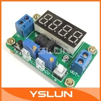 DC/DC 4.5V-24V to 0.93V-20V Buck Converter Constant Voltage Voltmeter Ammeter Green LED Display #090471