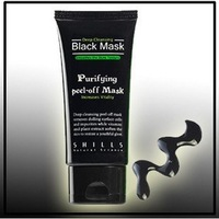 Free shipping SHILLS Black MASK Deep Cleansing/ purifying peel-off mask / Clean Blackhead facial mask 50ML