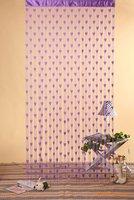 Heart Tassel String Door&Window  Curtain Door Hanging - Purple