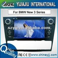 free shipping car audio dvd player with radio tv and gps navigation special for BMW E90 E91 E92 E93 E81 E82 E87 E88