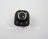 Free shipping NEW Auto Chrome Control Rear View Mirror Switch 5ND959565A 5K0959565 For VW PASSAT CC Golf A6 (MSVW103)