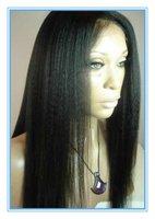 Popular Fashion Yaki Straight Brazilian Remy Human Lace front wig & Full Lace Wig Glueless Best Price Wholesale