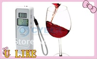 dual LED Digital Breath Alcohol Tester Analyzer Breathalyzer alcohol breath tester with LED Clock. Retail Free