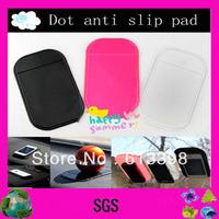 PU Gel magic sticky cell phone anti slip pad on the dashboard