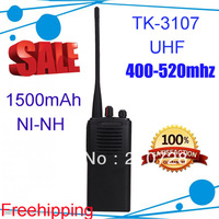 DHL freeshipping Handheld TK-3107 TK3107 UHF Two Way Radio Walkie Talkies for 4pcs