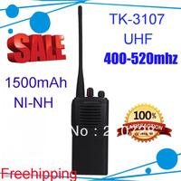 DHL freeshipping Handheld TK-3107 TK3107 UHF Two Way Radio Walkie Talkies for 4pcs